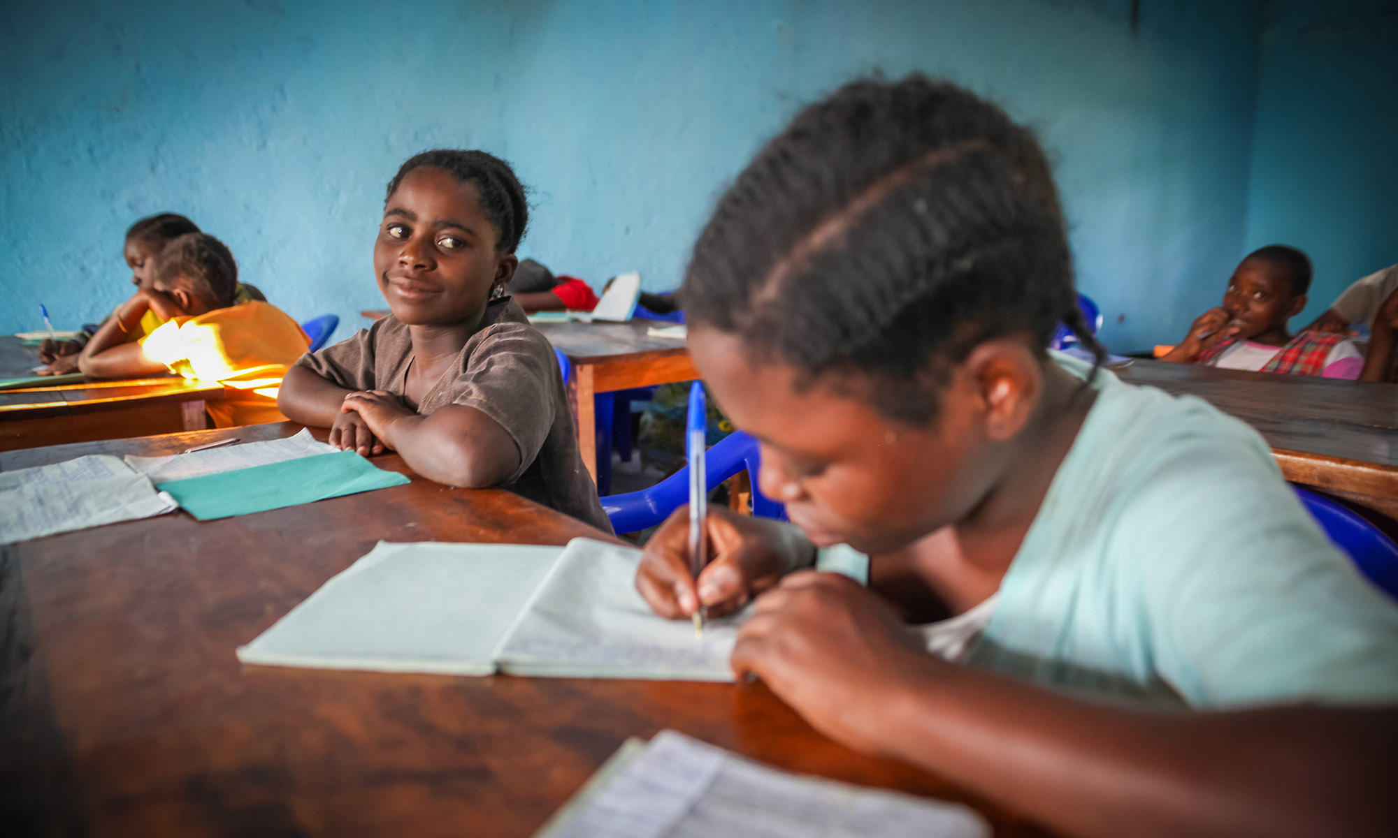Voldtatte jenter på skolebenken ved stiftelsens senter i Øst-Kongo