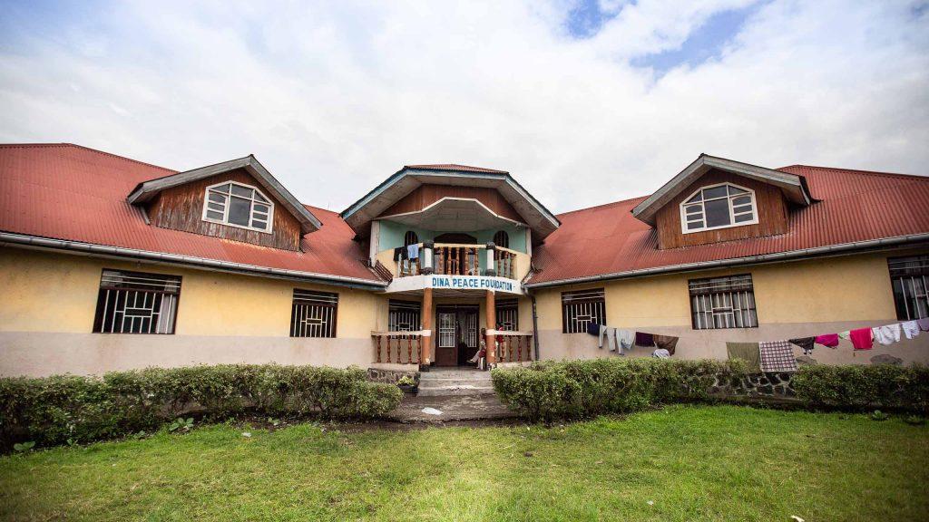 Dina-stiftelsens senter for voldtatte jentebarn i Goma-i Nord-Kivu-provinsen i Den demokratiske republikken Kongo.