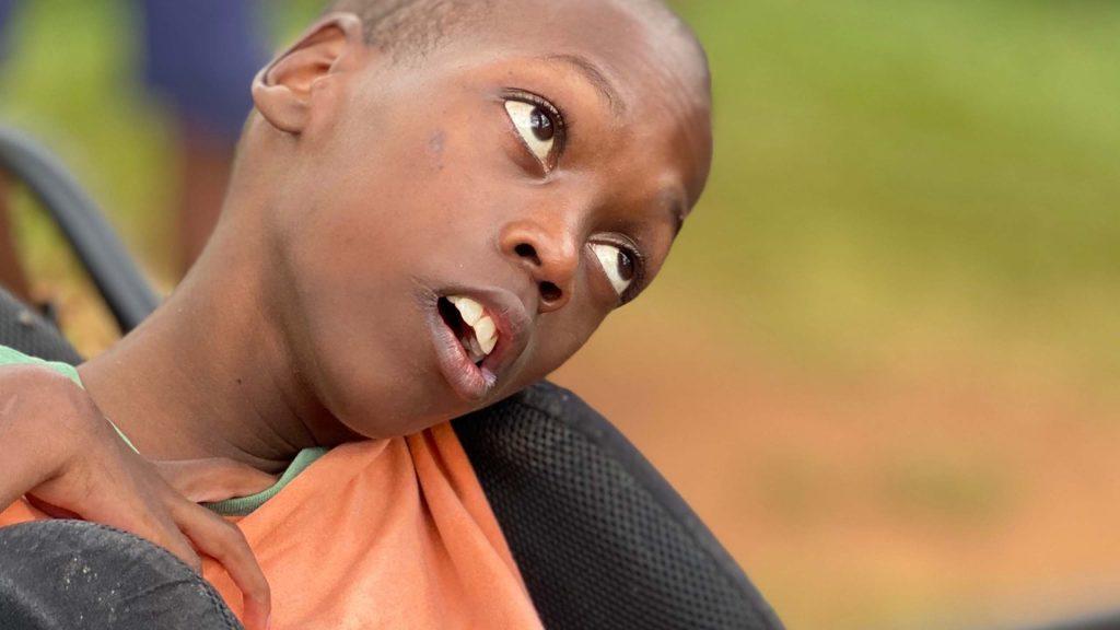 Funksjonshemmet barn i Uganda
